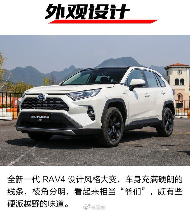 推荐2.0L风尚/双擎精英版 全新RAV4全系车型导购