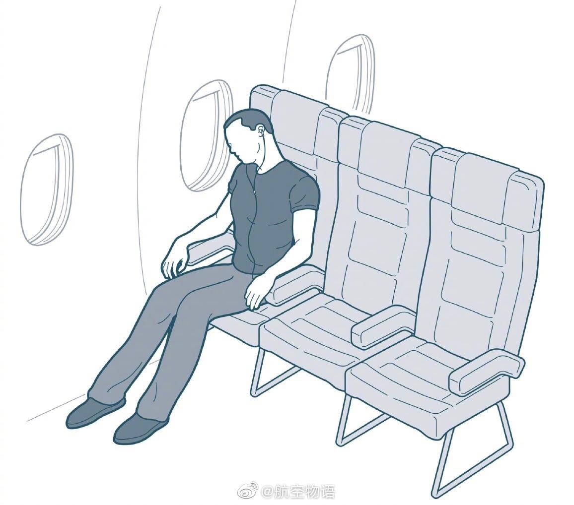 近日《华盛顿邮报》整理出了18种经济舱选手的睡姿……小语看完很多只