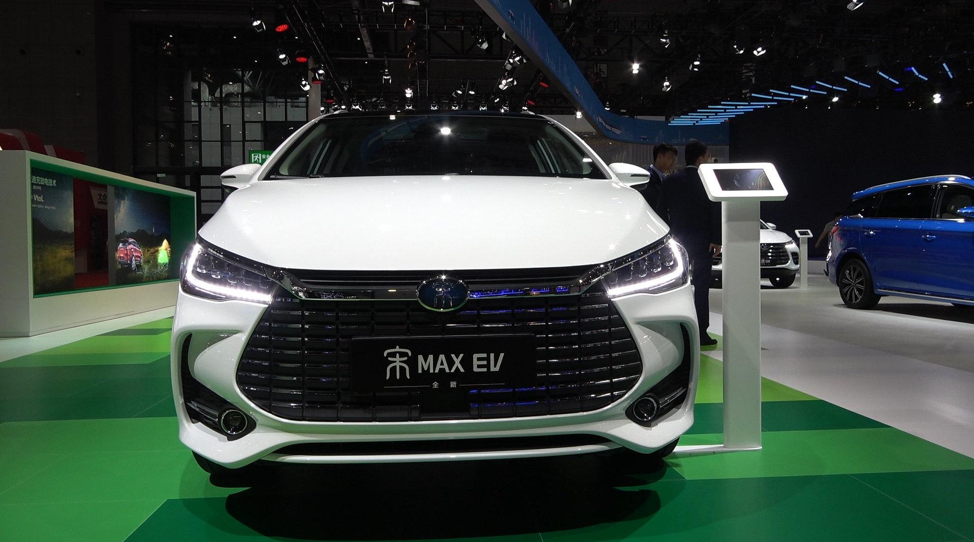 视频:2019上海车展 实拍比亚迪宋MAX EV