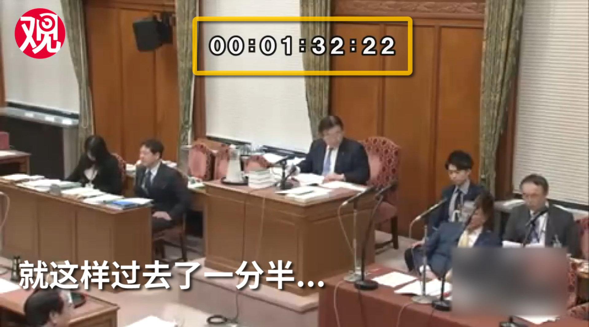 被追问中国捐赠的检测盒怎么样了 厚生劳动大臣现场沉默1分半钟