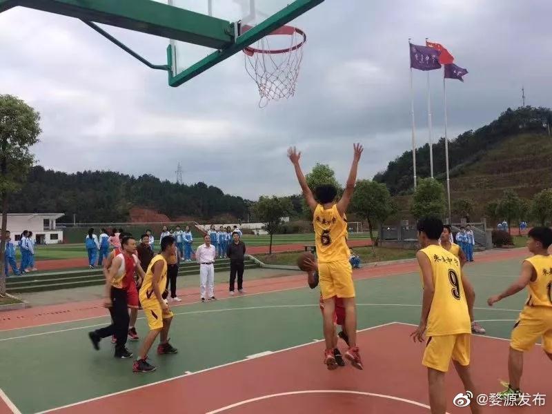 婺源县朱子中学入选全国青少年校园篮球特色学校       2019年全国青