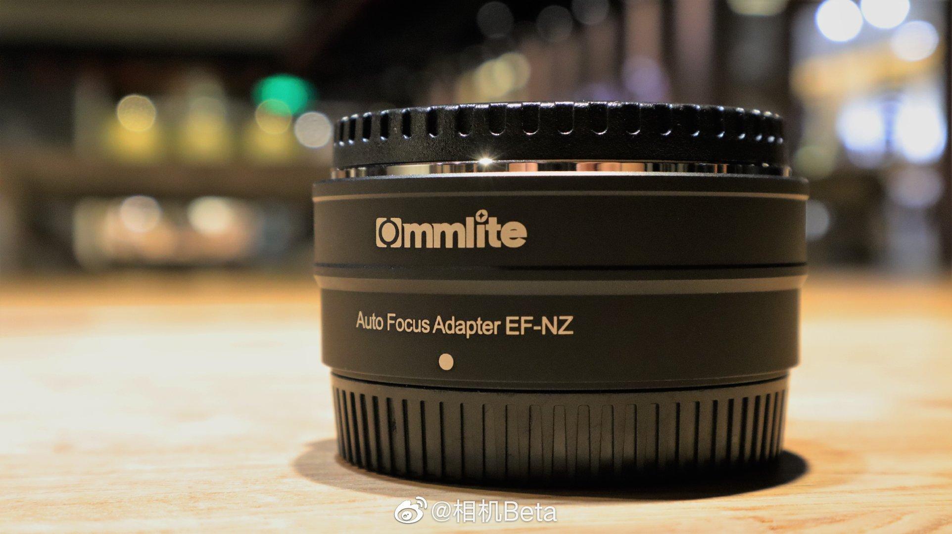 佳能镜头与尼康Z卡口全画幅微单合体之物 咔莱EF-NZ电子转接环