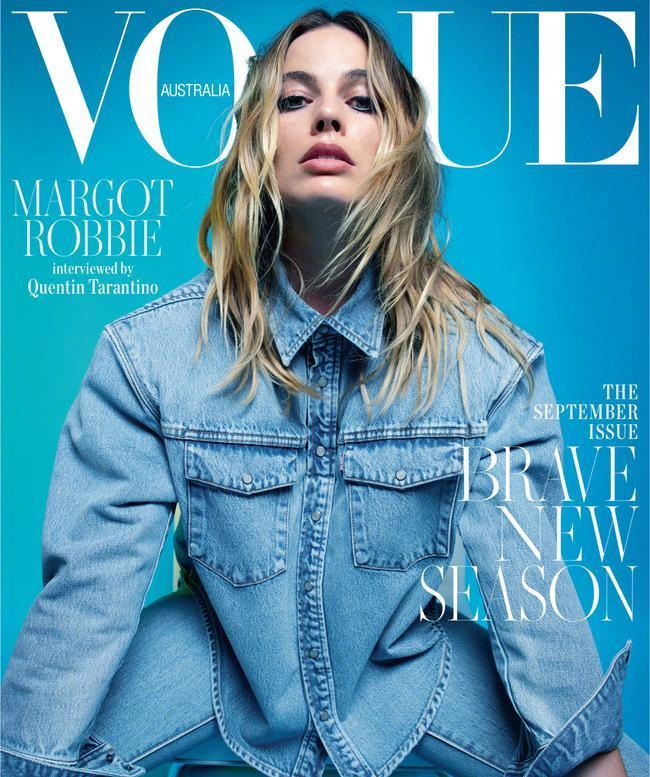 玛格特·罗比为澳洲Vogue今年九月拍摄的最新大片,摄影师