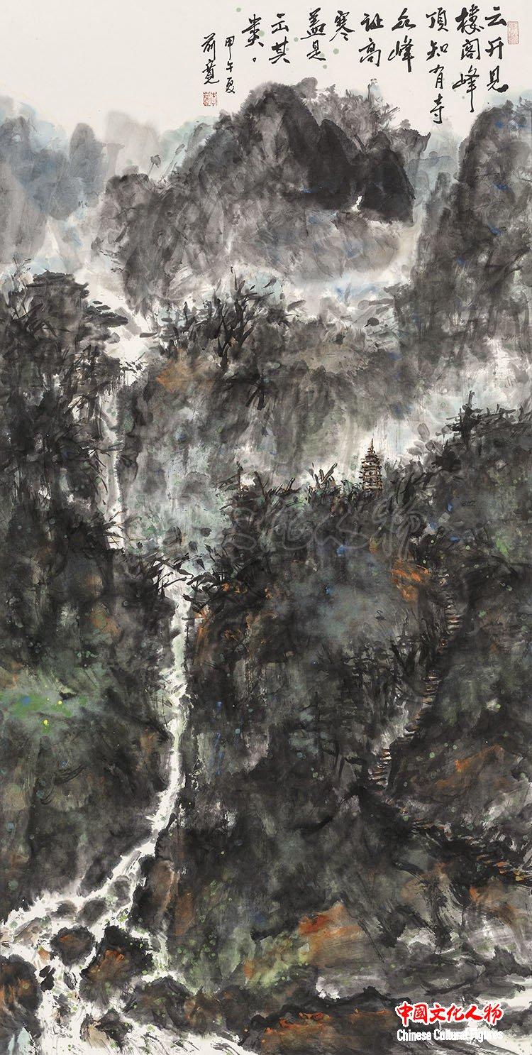 光影彩墨李前宽肖桂云艺术展专馆将在长春东北亚艺术中心开馆之一