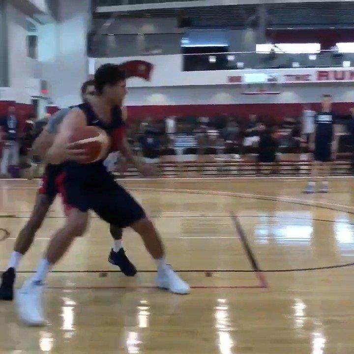 美国男篮队内一对一背打训练,塔图姆福克斯塔克洛佩斯车轮战