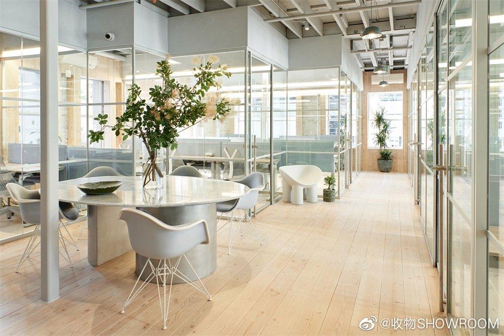 旧金山Canopy共享办公室明亮的浅色系 让整个办公环境沉静又蕴含着活