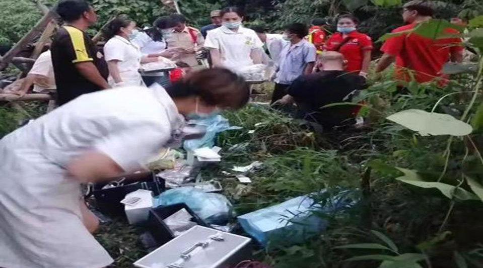 南京旅行团老挝车祸 已致8死29伤1失踪 为老年团 江宁人居多