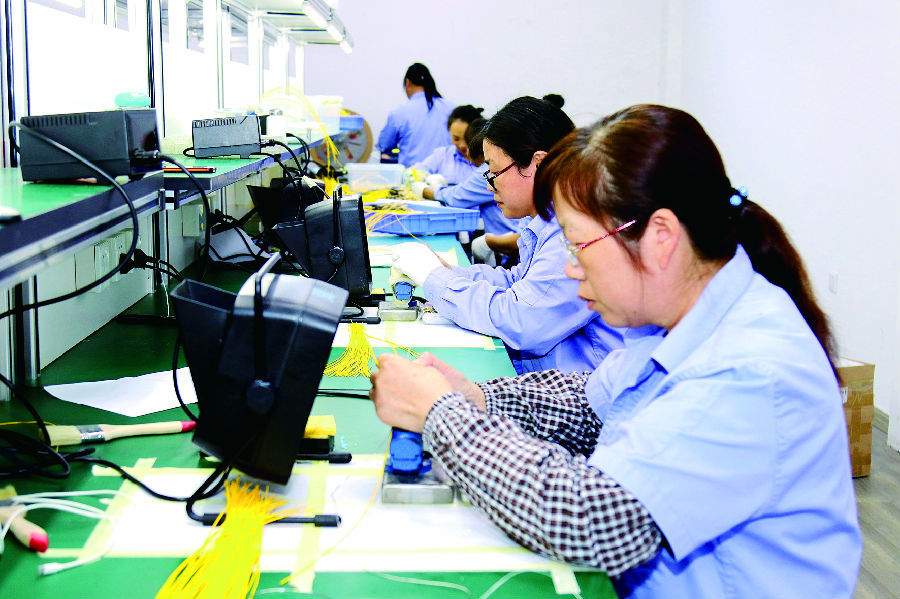 航空光电技术有限公司主要生产液冷装置及新能源汽车无线充电桩等