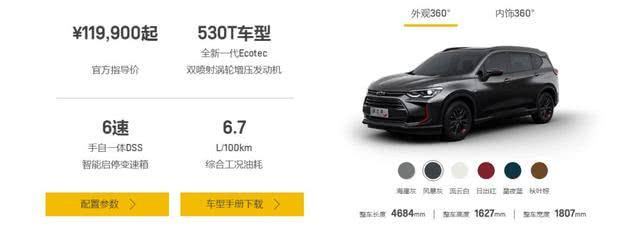 引荐两驱精英型 2019款哈弗H6 Coupe购车指南