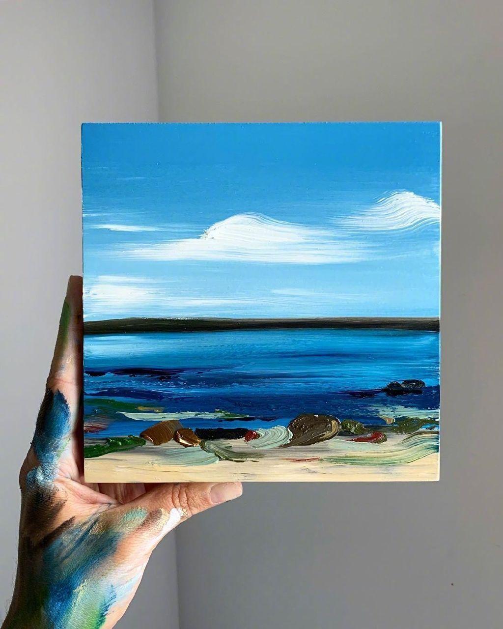 油画家 Rachael Cassiani