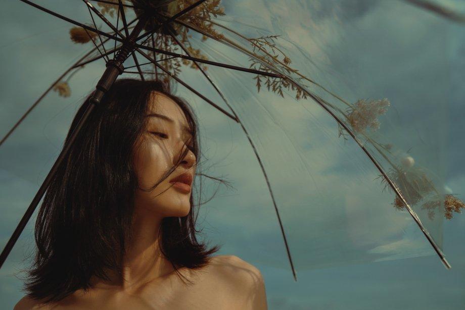 是风的离开 才懂珍惜晚霞     摄影@微醺十月