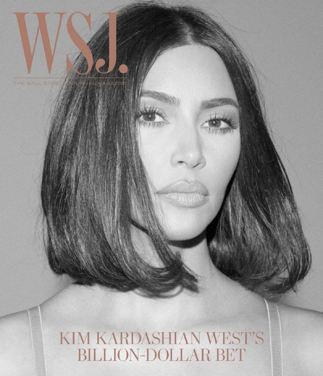 金·卡戴珊(Kim Kardashian)-《华尔街日报》杂志2019年8月
