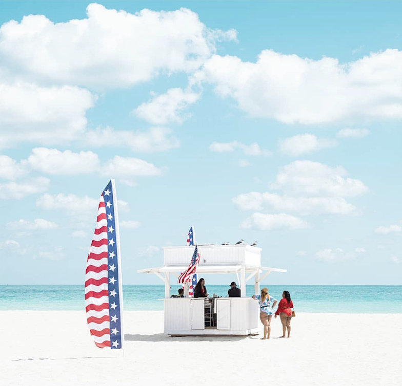迈阿密的海滩