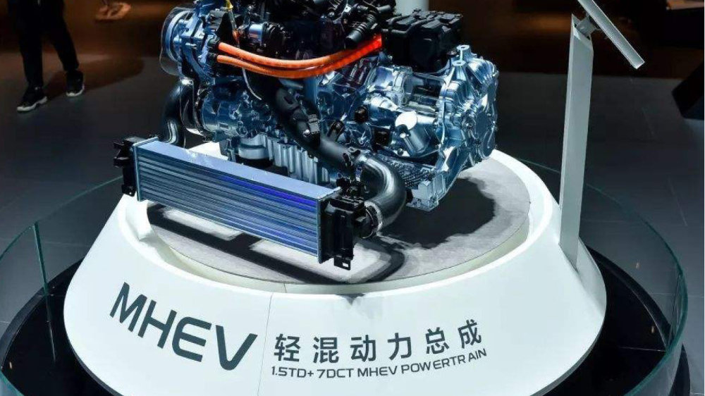 48V电气系统都有哪些亮点?解析吉利MHEV轻混技术