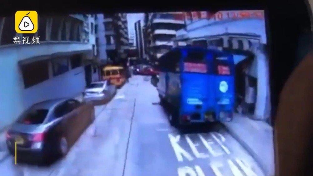 香港北角重大车祸  已致4死11伤