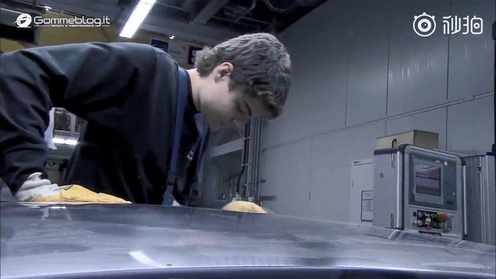 碳纤维车顶的制作过程~