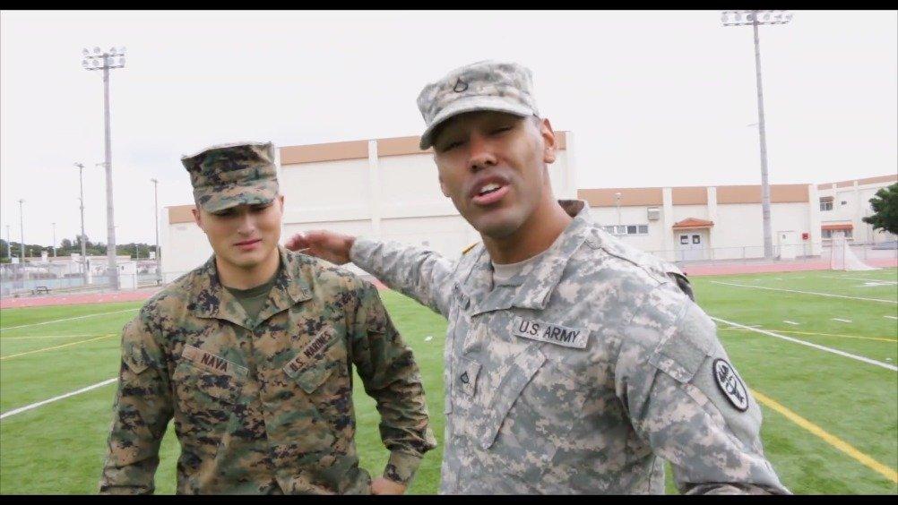 陆军士兵 VS 美国海军陆战队