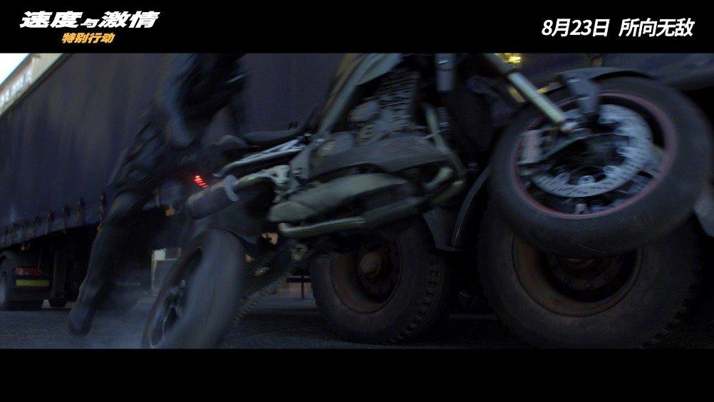 《速度与激情:特别行动》三大巨头展神技