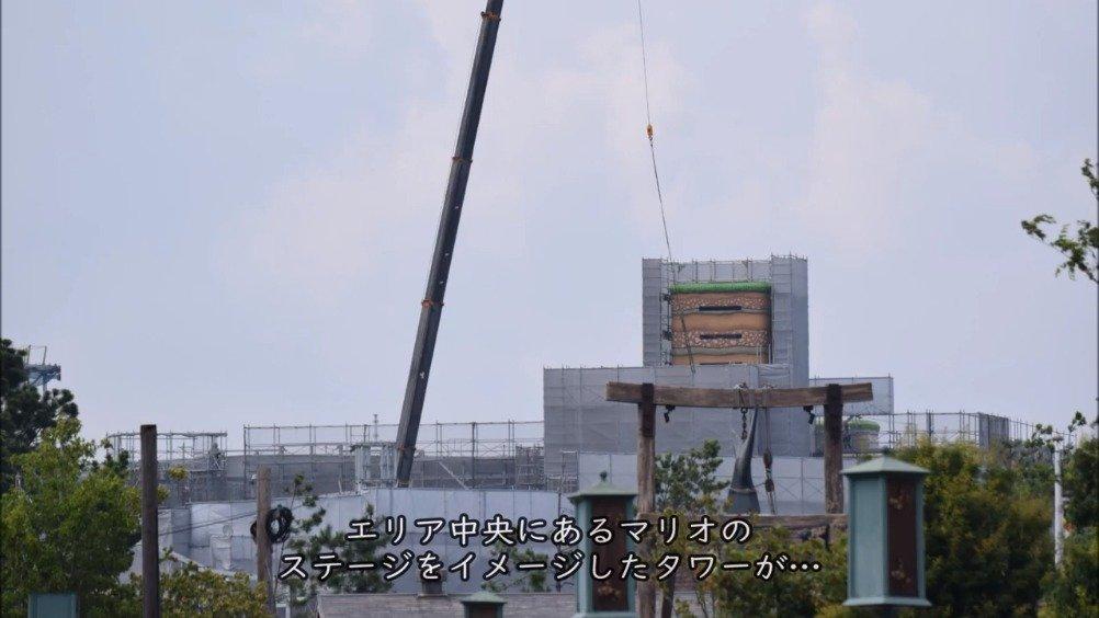 大阪USJ与任天堂合作的超级马里奥主题区『SUPER NINTENDO WORLD』