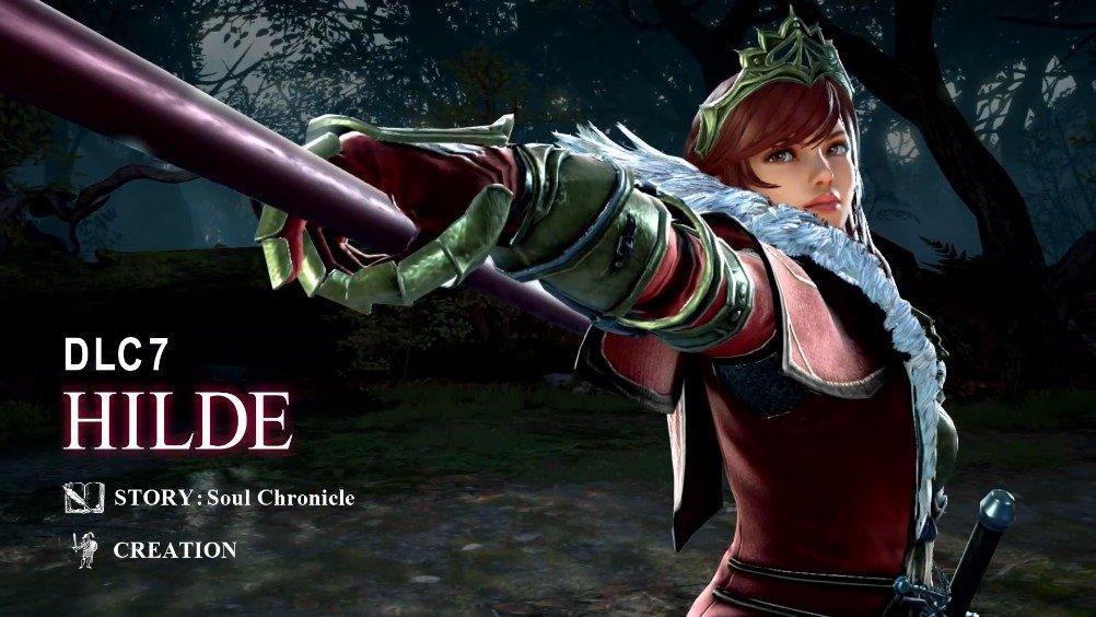 《剑魂6》(PS4/XOne/STEAM)公布第7弹DLC参战角色——希尔妲宣传影