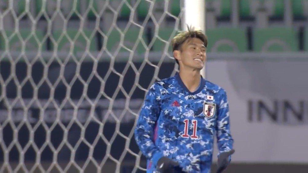 东亚杯第二轮,日本5-0大胜中国香港