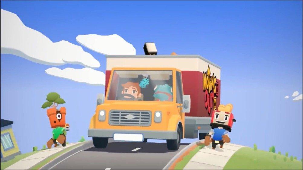 《胡闹搬家(MovingOut)》确认将于4月28日登录PC、PS4、Xbox One、S