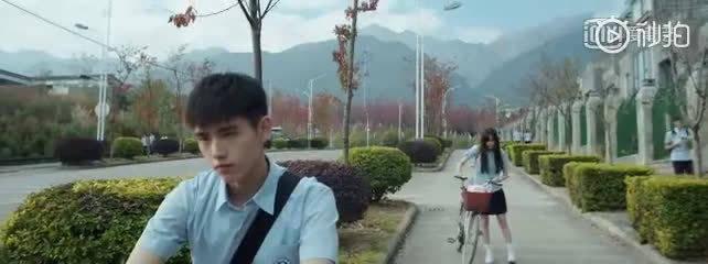2017年欧阳娜娜和陈飞宇拍摄了电影《秘果》