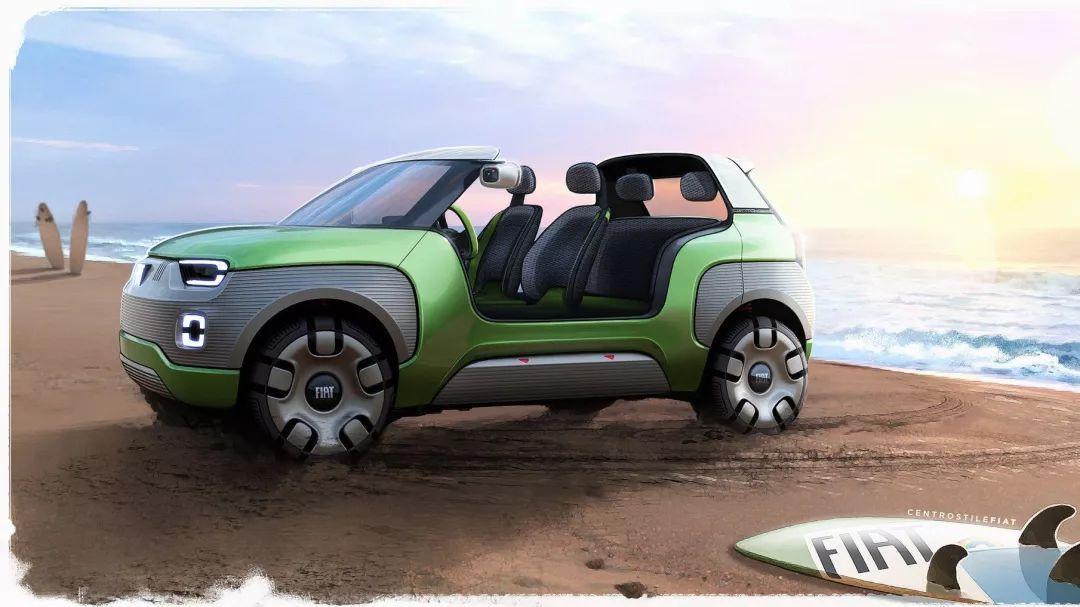 菲亚特展望未来电动车愿景:像乐高一样组装自己的爱车