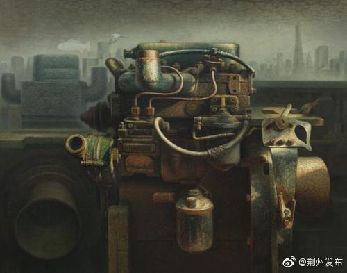 """荆州籍""""生态画家""""陈泽鲲再登联合国讲坛"""