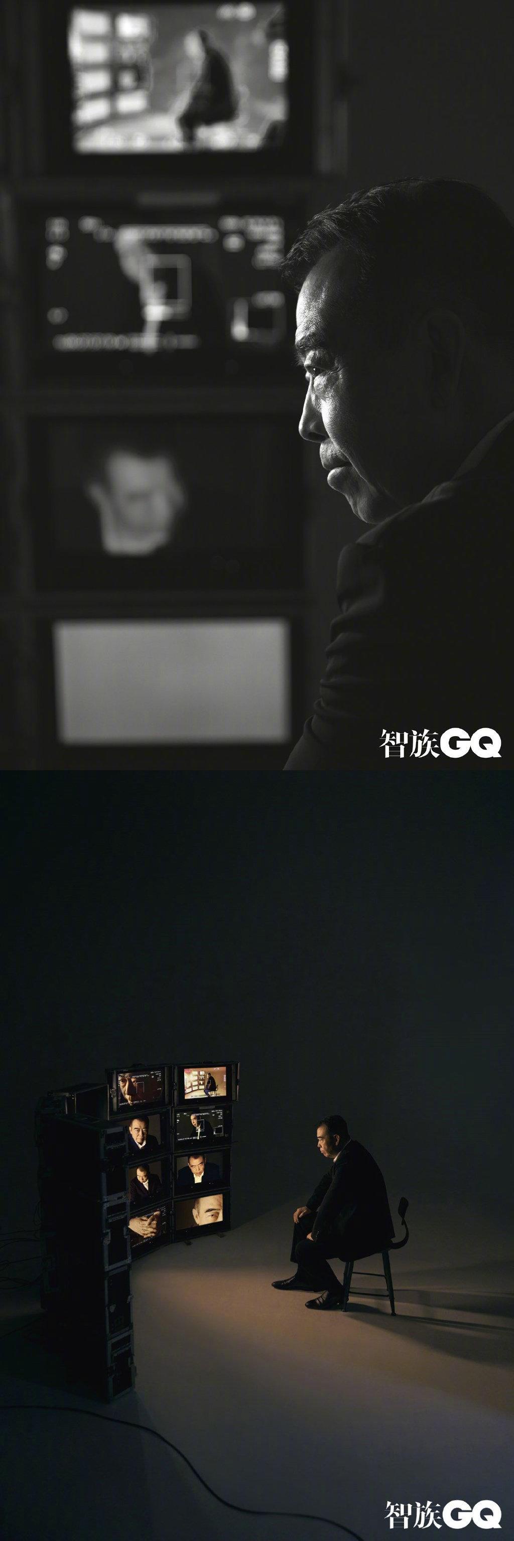 """《GQ智族》十周年刊年度人物""""——导演陈凯歌、刁亦男、白雪;演员王"""
