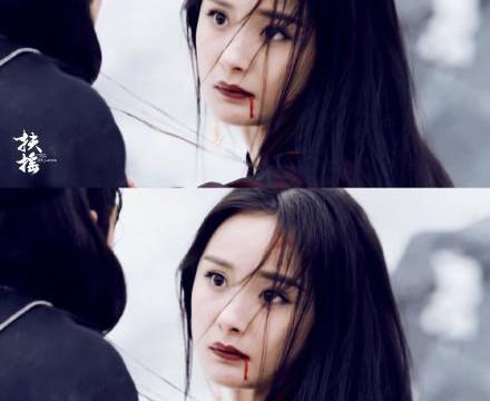 同样是黑化佘诗曼眼神杀人,赵丽颖全靠浓妆,一对比好尴尬