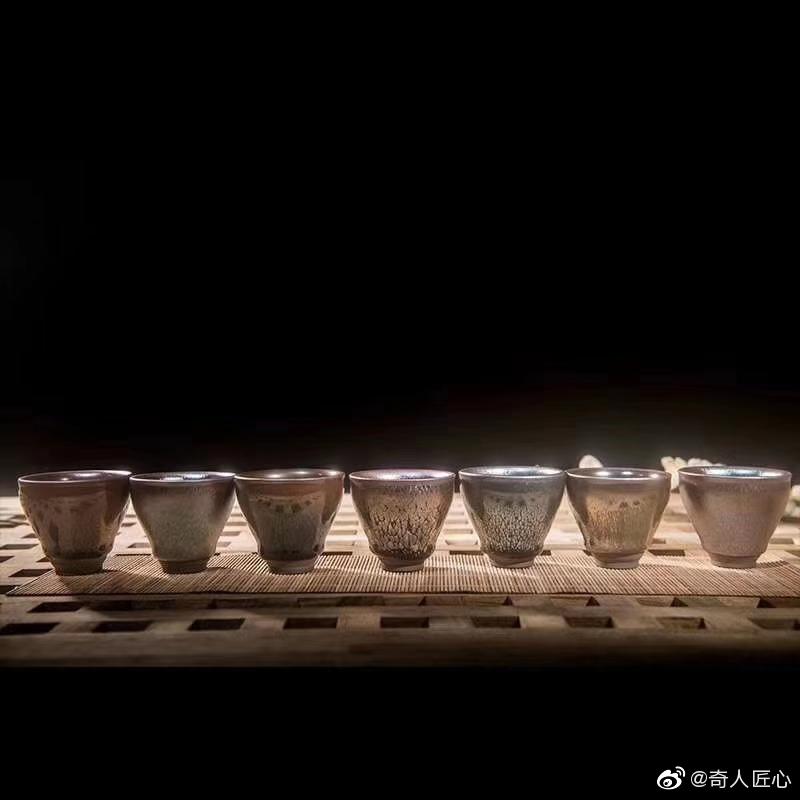 建盏伴手礼之七贤盏,你们知道建阳有七位儒贤吗