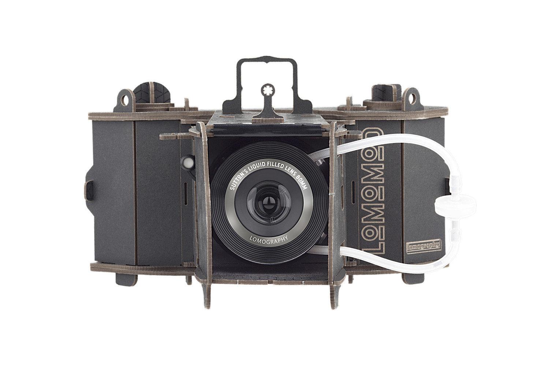 镜头注水后使用 Lomography推出新DIY纸质中画幅相机