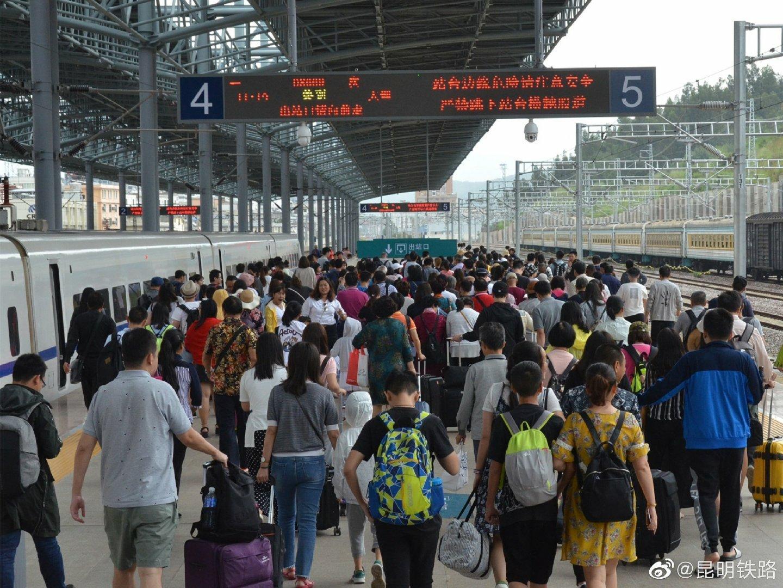 """""""三月街""""期间大理站旅客到达发送数同比增长1.6倍"""