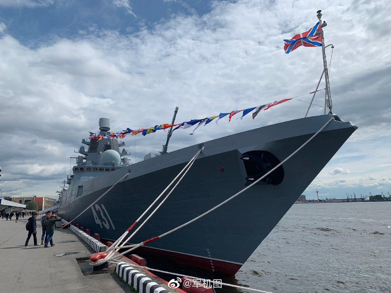 """""""戈尔什科夫海军上将""""号导弹护卫舰的姊妹舰""""卡萨托诺夫海军元帅"""""""