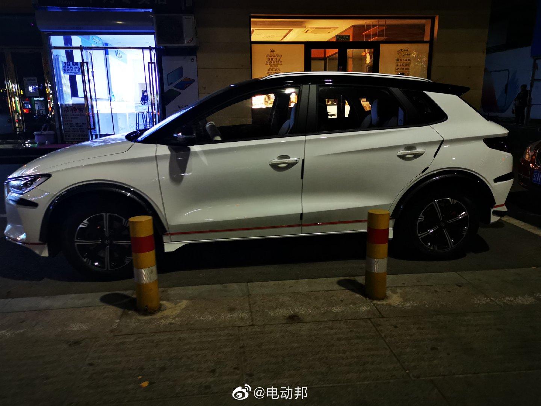 北京已经有上牌的比亚迪e2了,车主下手够快的