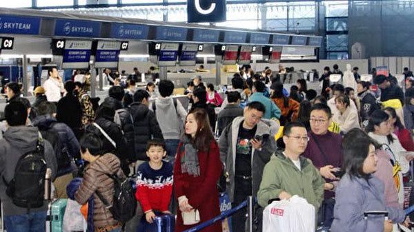 日本出国旅游人数首次突破2000万