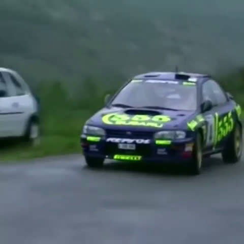 "Subaru WRC ""555"" 记忆中的样子…"