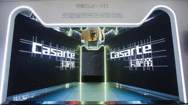 卡萨帝携手天猫club双11上海启动达芬奇艺术展