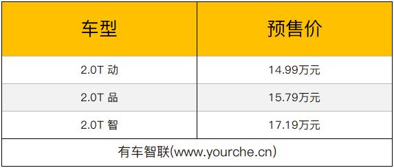 颜值比肩宝马X6 长安CS85 COUPE开启预售 预售价14.99万元