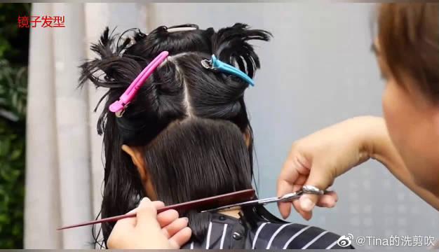 40岁女性,锁骨发剪成波波头,瘦脸显年轻,时髦多了