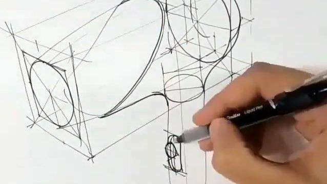 手绘设计草图:吹风机,你给打几分?