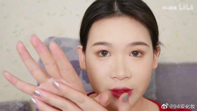 调整眼型下垂眼眼睑下至画法分享,改善吊梢眼