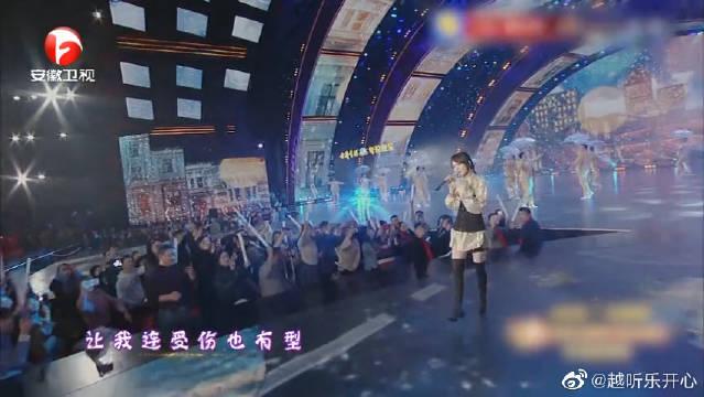 张韶涵甜美嗓再唱《淋雨一直走》,开口第一句就沦陷了
