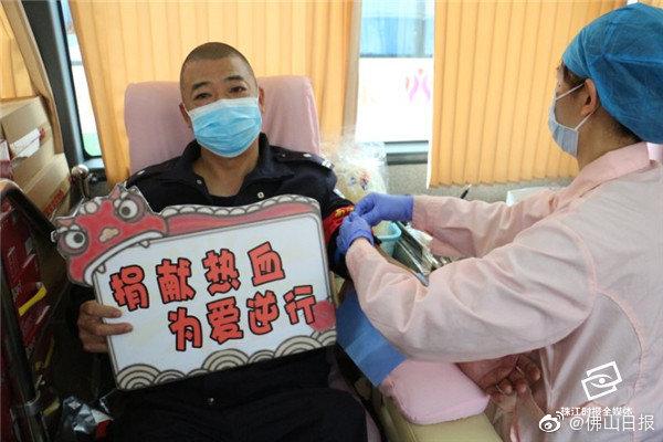 官窑派出所119名警辅人员组团献血