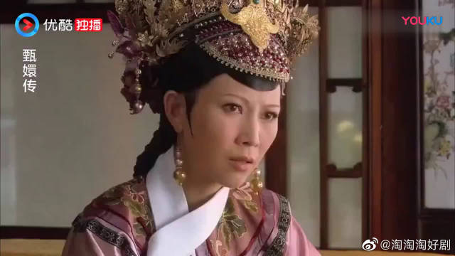 《甄嬛传》安陵容素颜求见皇后,为了救父亲又跪又哭