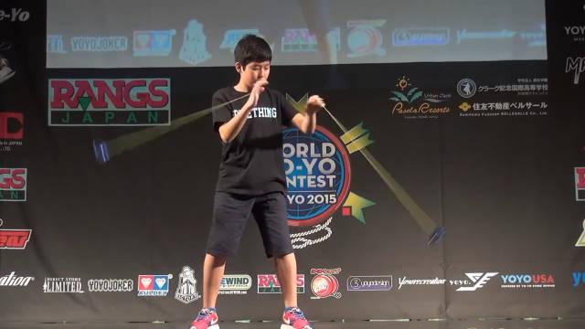 日本悠悠球顶尖玩家表演视频,玩成这样必须高手中的高手了!