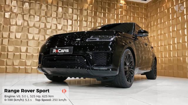 路虎揽胜 Sport 5.0 V8、525匹马力、625牛米,0-100加速5.3秒。