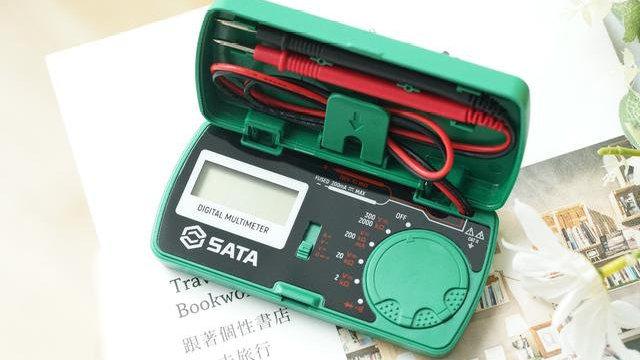 便携好用的世达迷你万用表,数码家电维修的好帮手