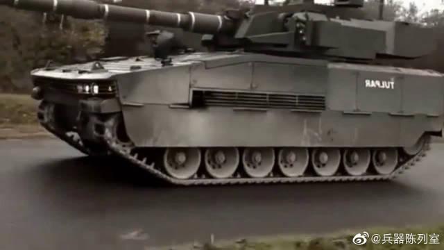 土耳其的新款轻型坦克,重量与装甲车无异,可火力很强劲